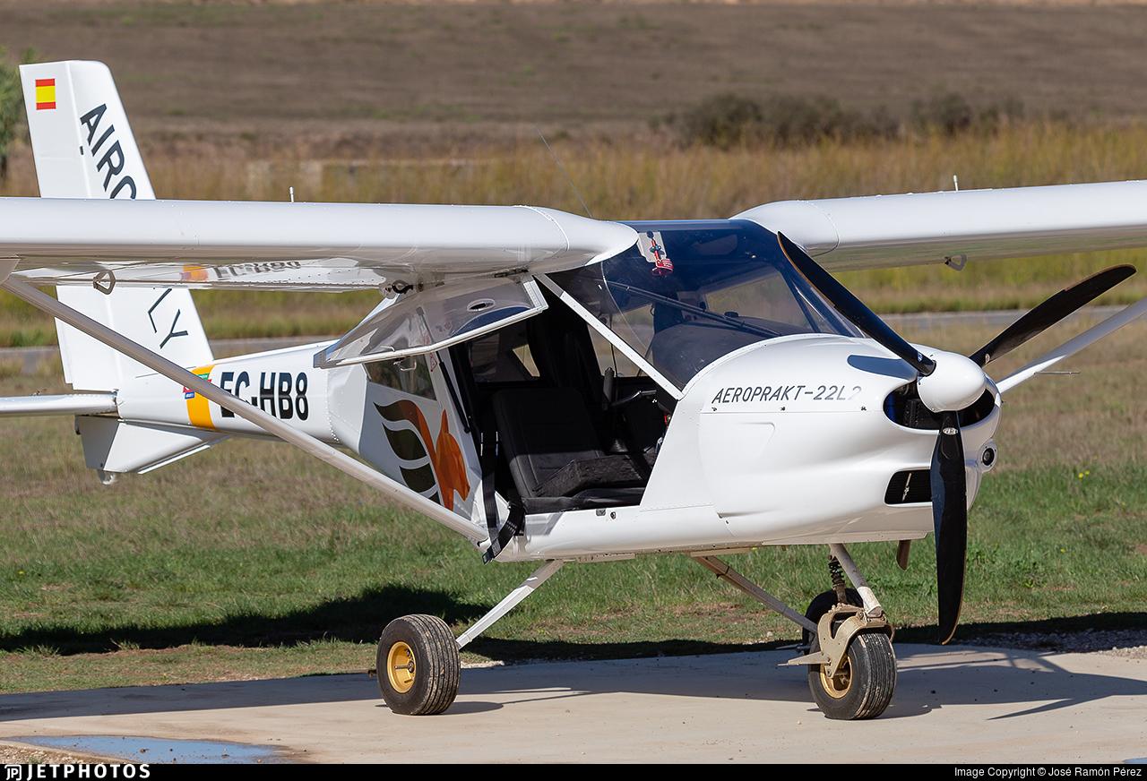 EC-HB8 - Aeroprakt A22L2 Foxbat - AirCatFly
