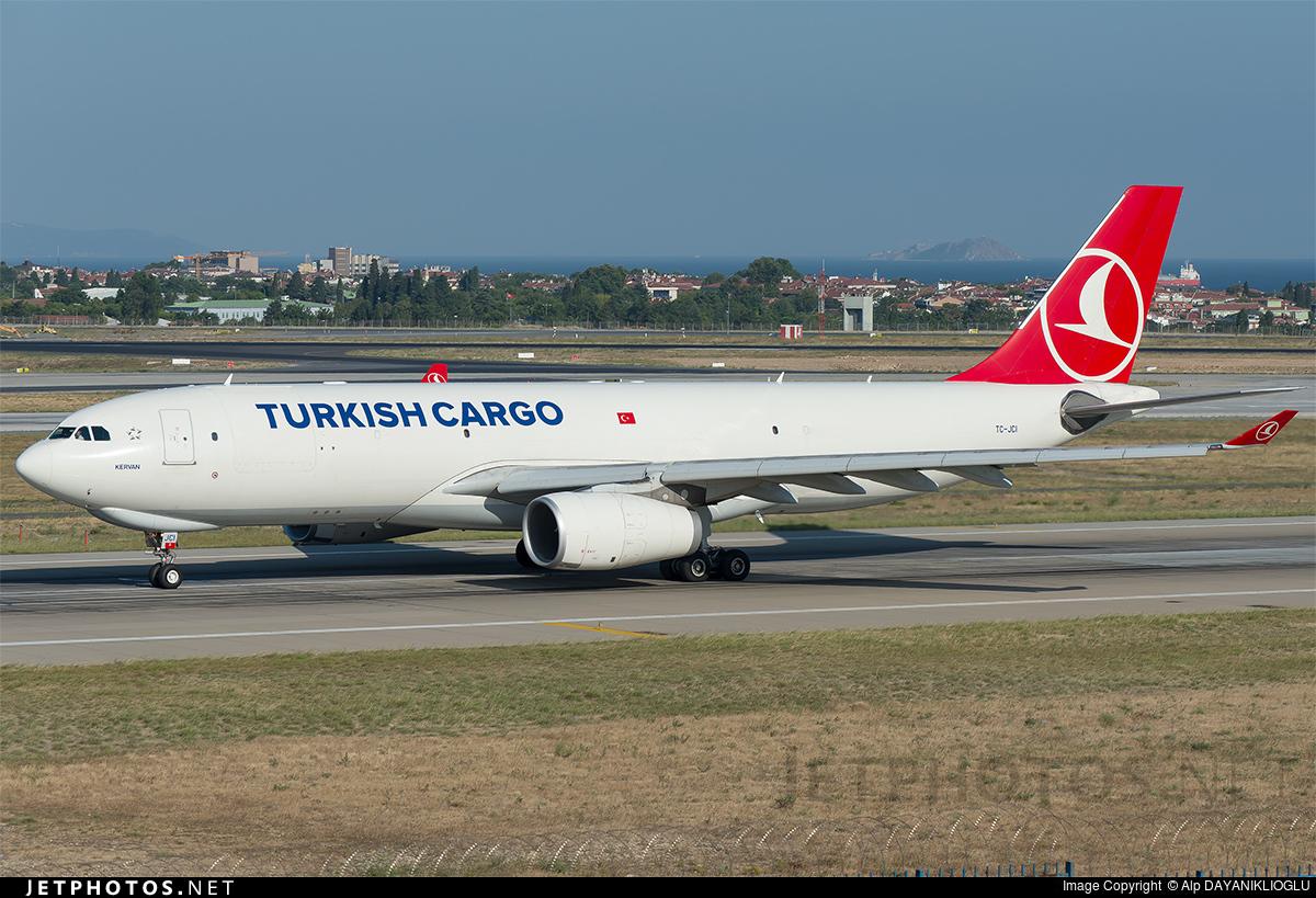 TC-JCI - Airbus A330-243F - Turkish Ailrlines Cargo