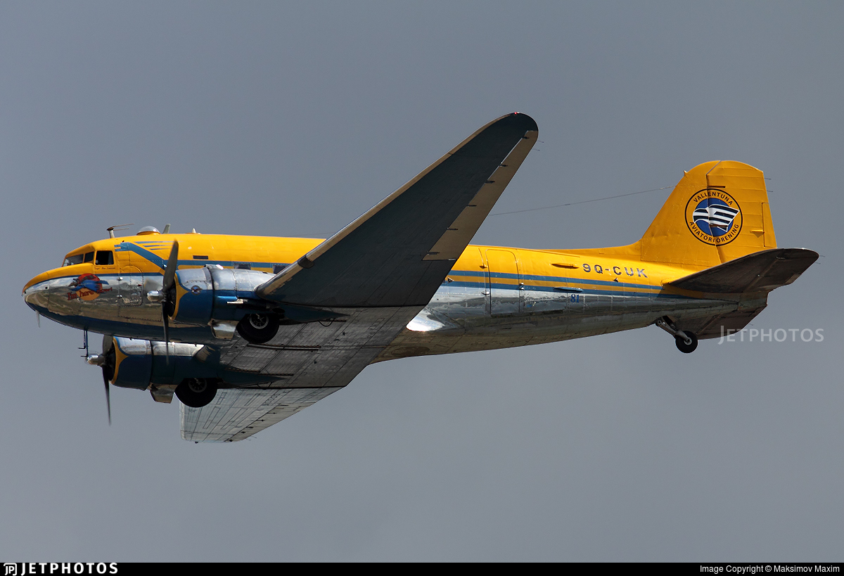 9Q-CUK - Douglas C-47B Skytrain - Vallentuna Aviation Club