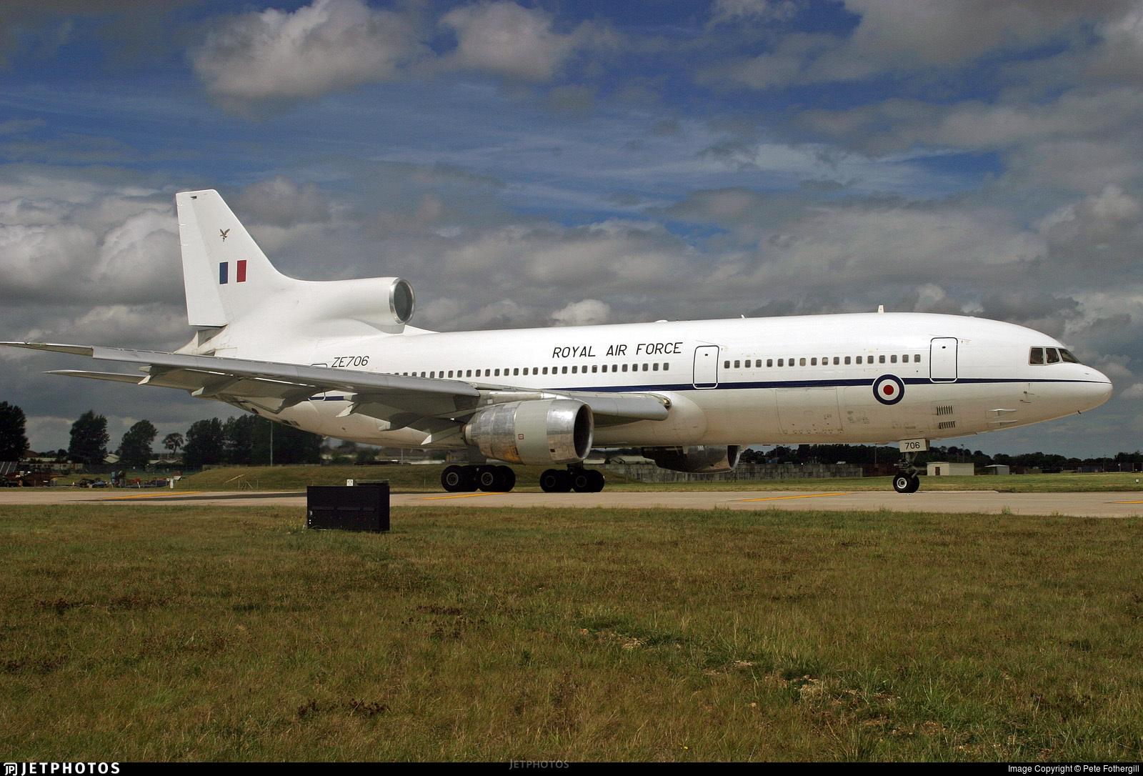 ZE706 - Lockheed Tristar C.2A - United Kingdom - Royal Air Force (RAF)