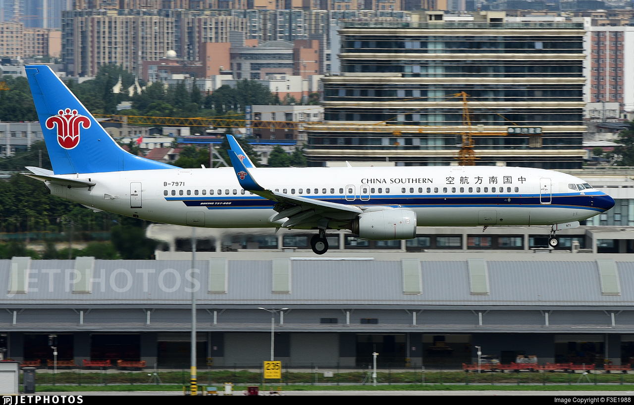 B-7971 - Boeing 737-81B - China Southern Airlines