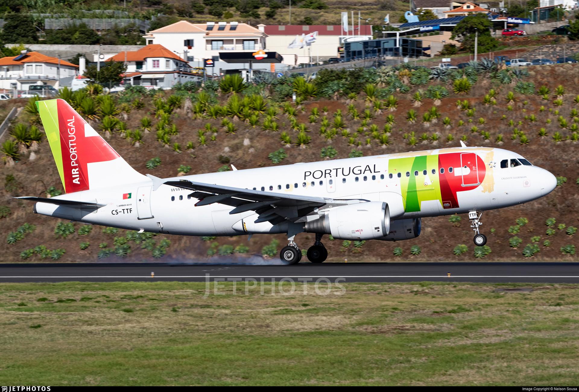 CS-TTF - Airbus A319-111 - TAP Air Portugal