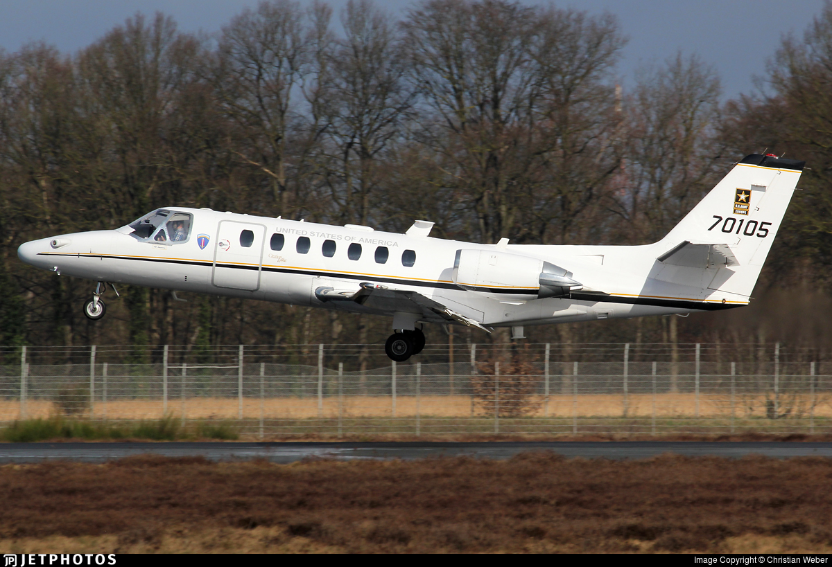 97-00105 - Cessna UC-35A1 Citation Ultra - United States - US Army