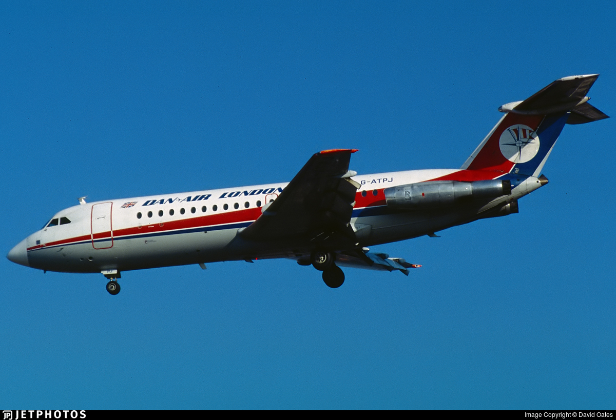 G-ATPJ - British Aircraft Corporation BAC 1-11 Series 301AG - Dan-Air London