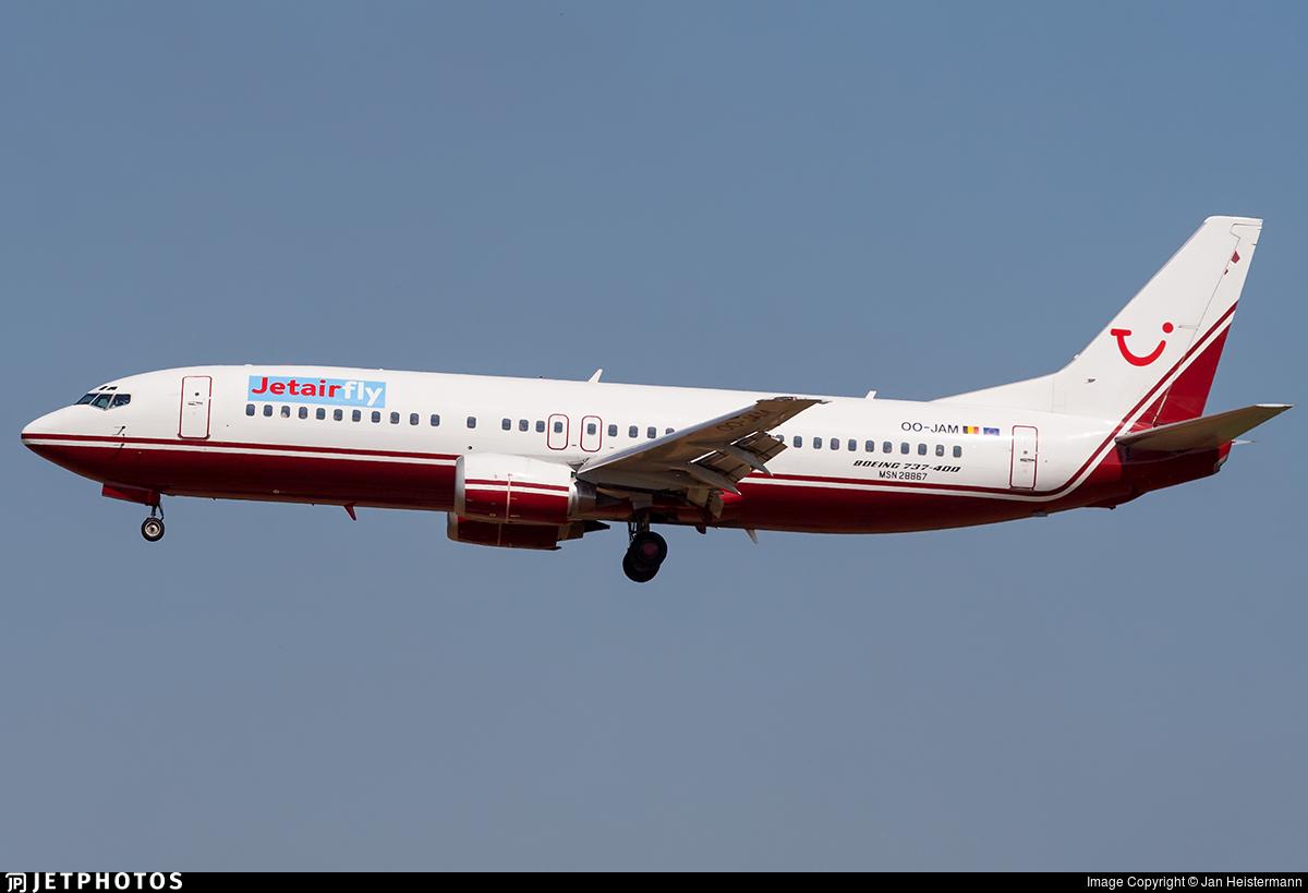 OO-JAM/OOJAM aviation photos on JetPhotos