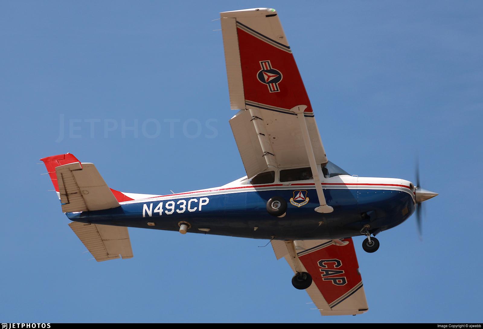 N493CP - Cessna 182T Skylane - United States - US Air Force Civil Air Patrol