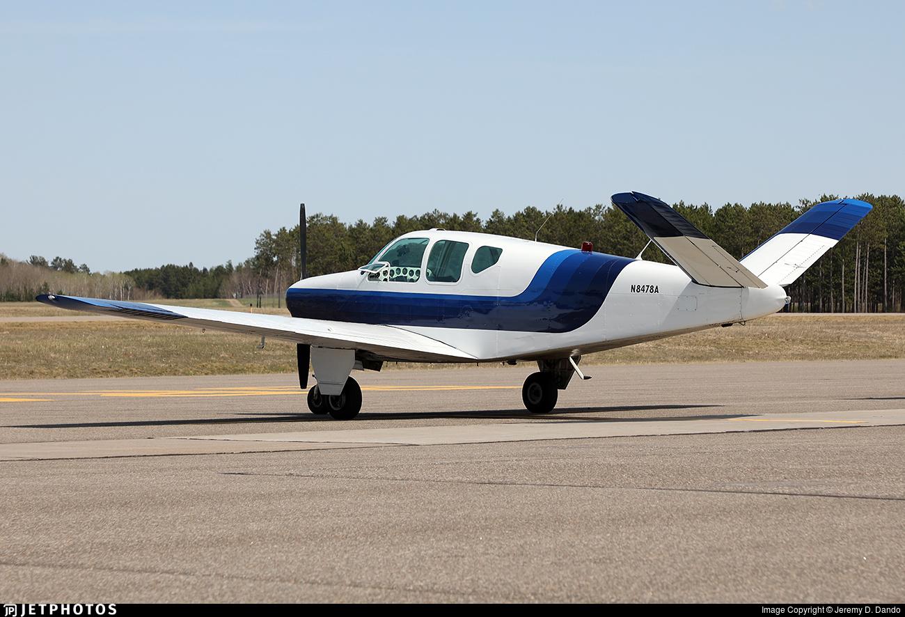N8478A - Beechcraft A35 Bonanza - Private