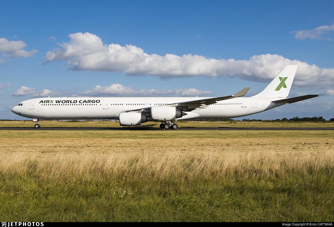 9H-LFC - Airbus A340-642 - Air X Charter