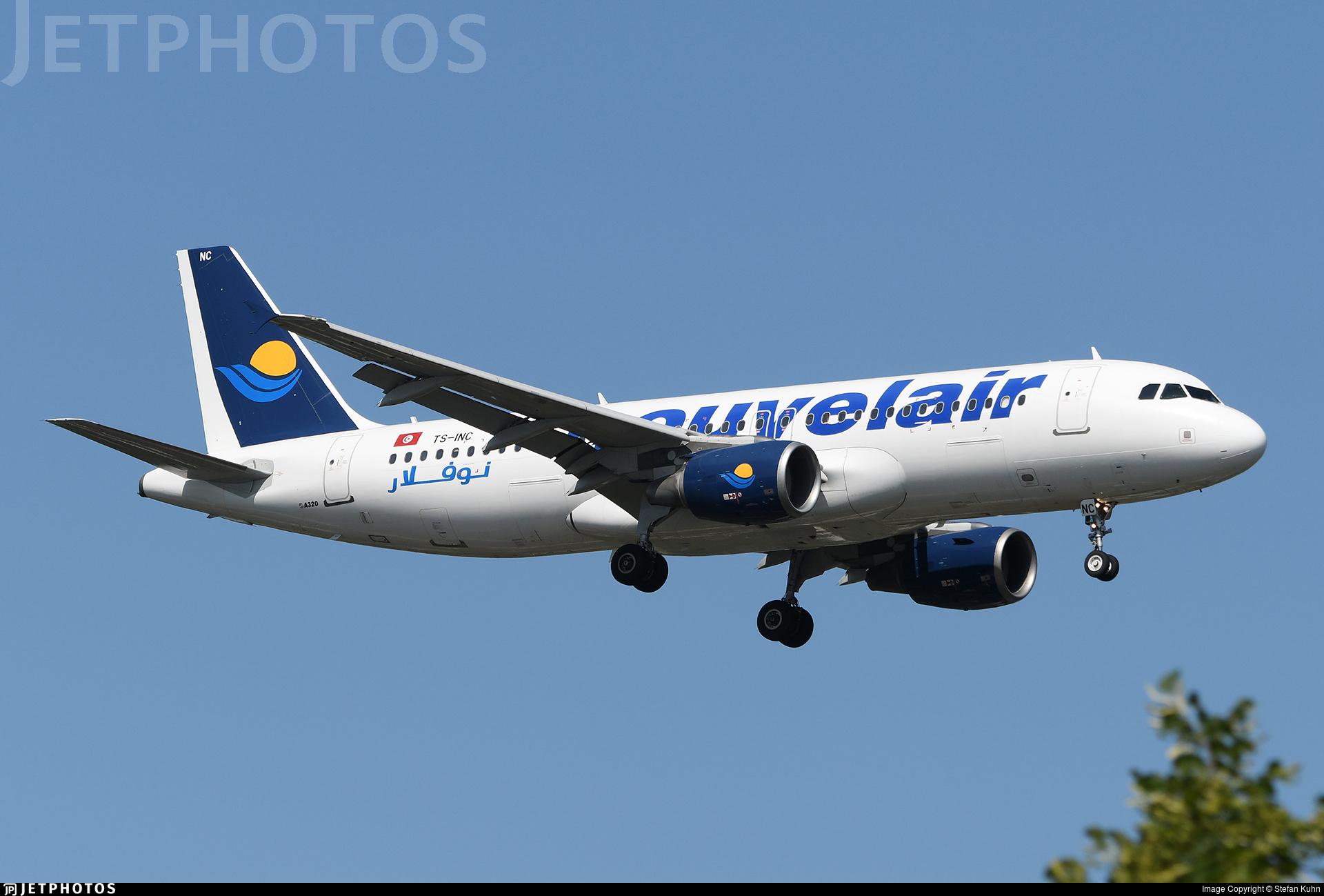 TS-INC - Airbus A320-214 - Nouvelair