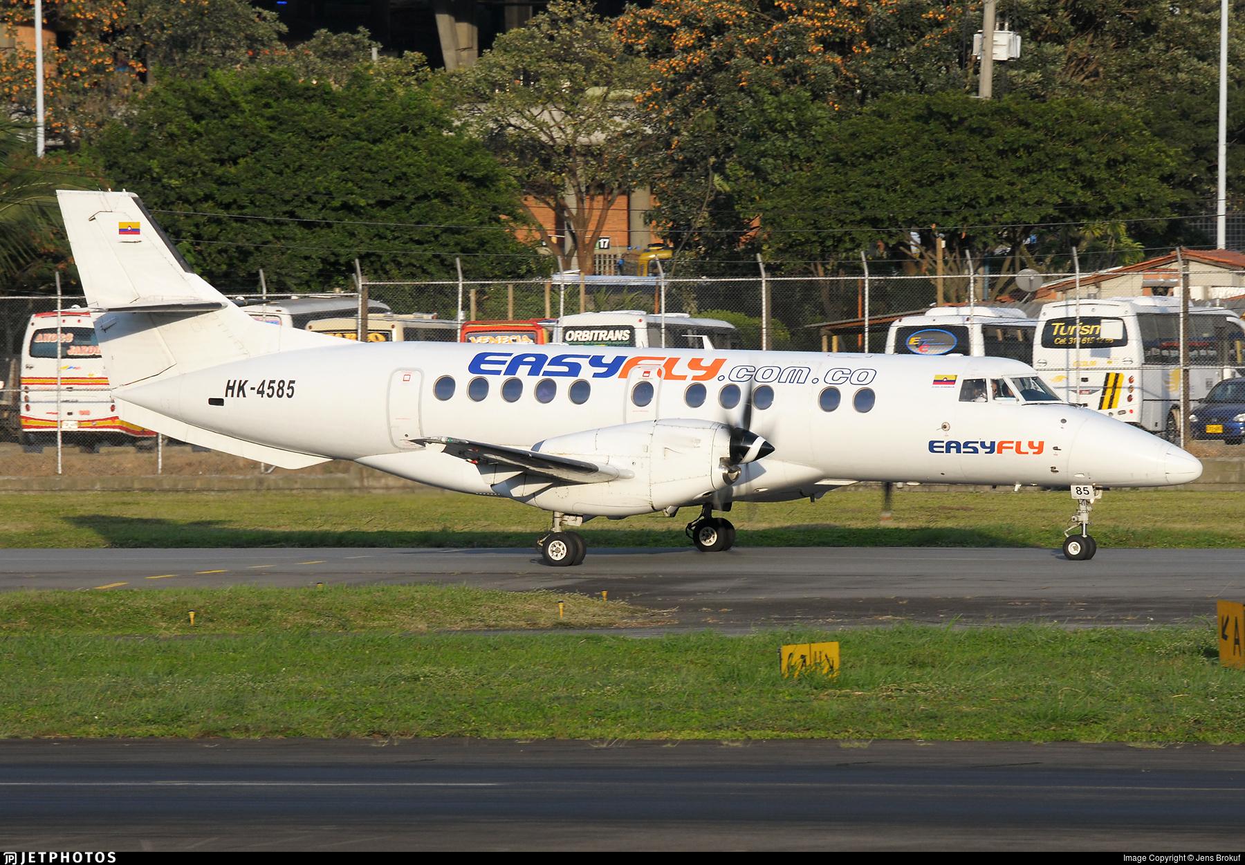 HK-4585 - British Aerospace Jetstream 41 - EasyFly