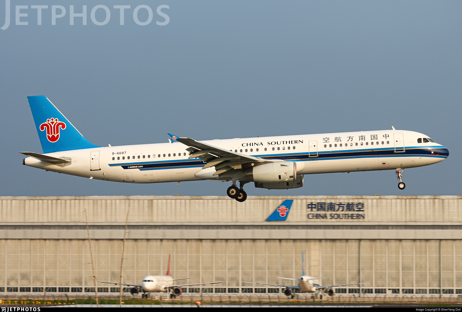 B-6687 - Airbus A321-231 - China Southern Airlines