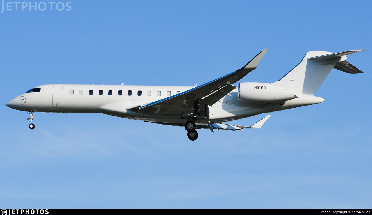 N1089 - Bombardier BD-700-2A12 Global 7500  - Private
