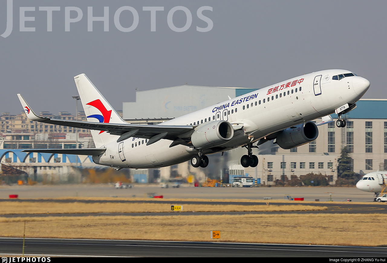 B-5779 - Boeing 737-89P - China Eastern Airlines