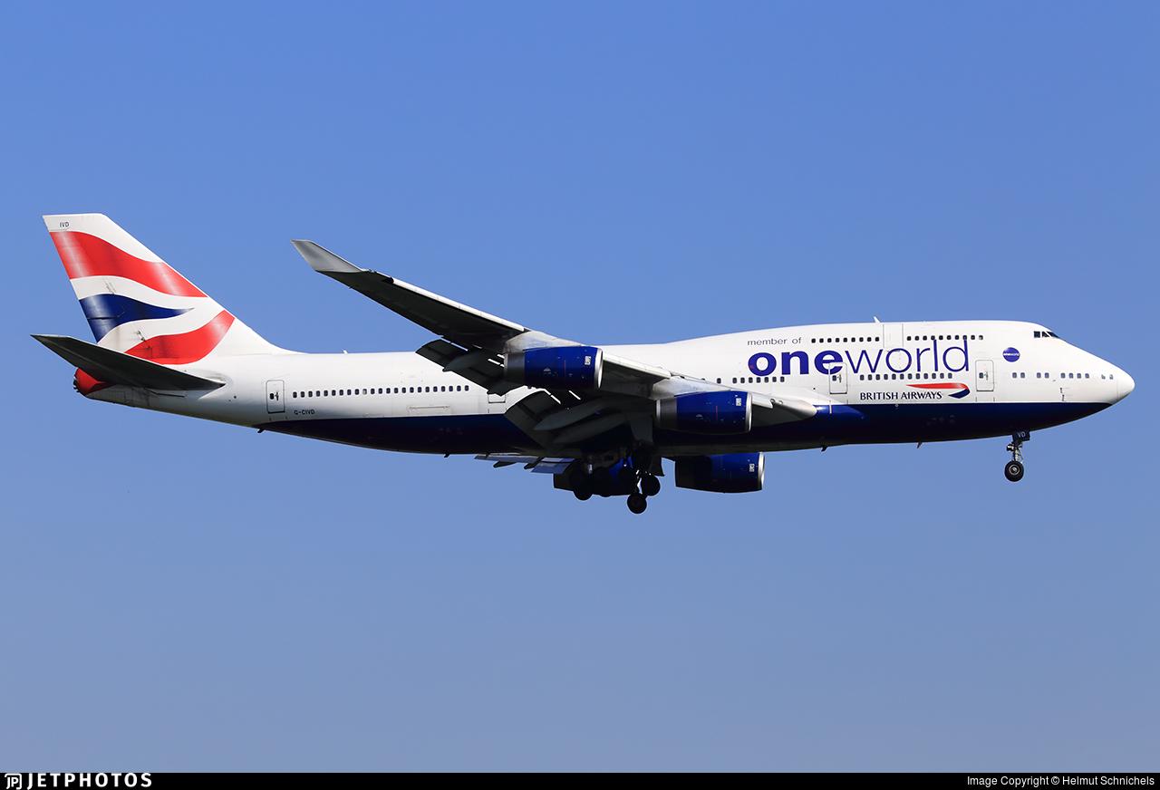 G-CIVD - Boeing 747-436 - British Airways