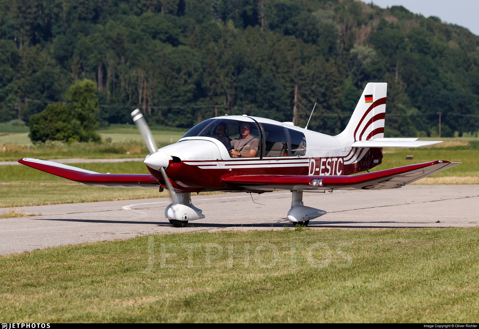 D-ESTC - Robin DR400/180 Régent - Fliegerclub Mühldorf