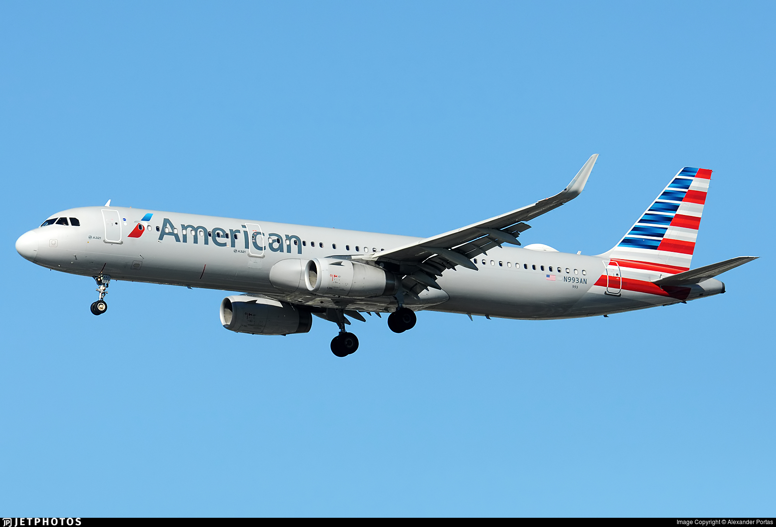 N993AN - Airbus A321-231 - American Airlines