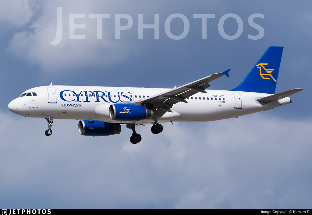 5B-DBB - Airbus A320-231 - Cyprus Airways