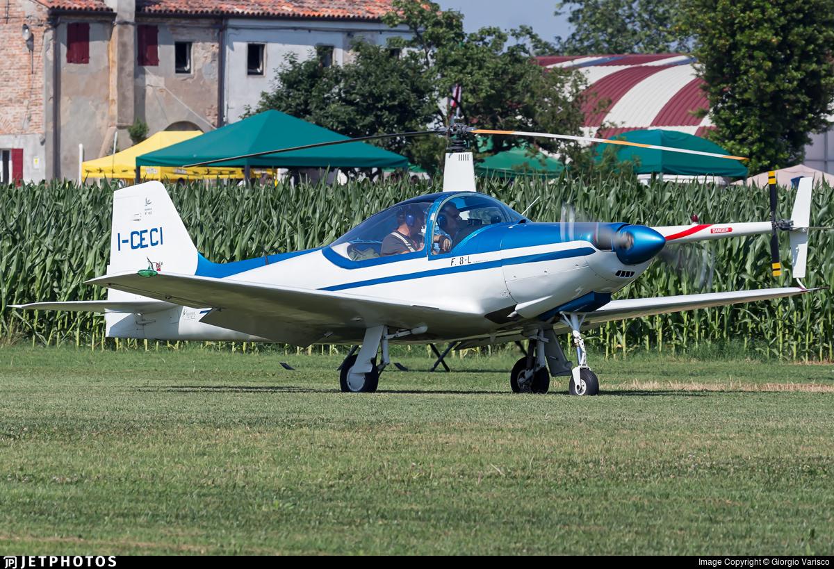 I-CECI - Aeromere F8L Falco III - Private