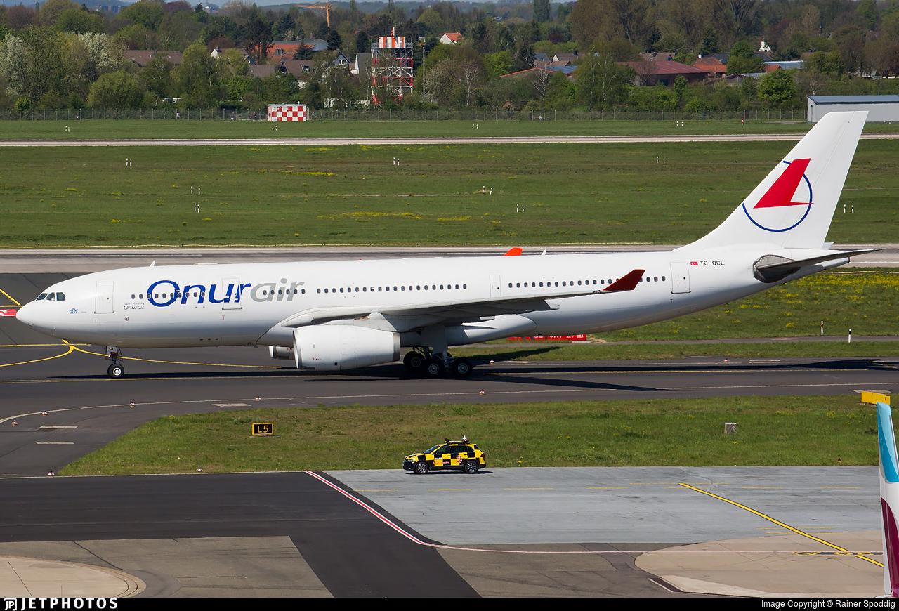TC-OCL - Airbus A330-243 - Onur Air