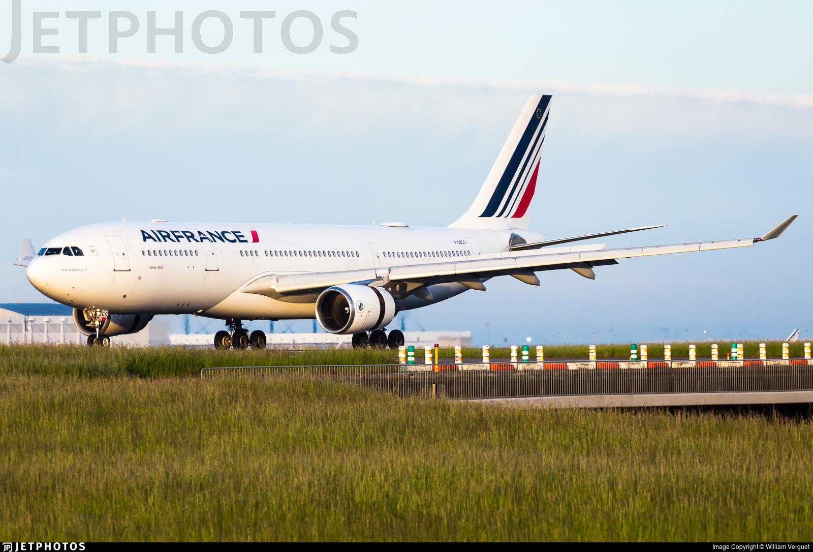 F-GZCO - Airbus A330-203 - Air France