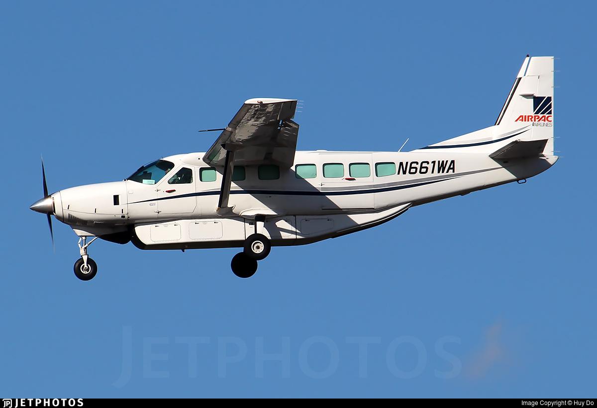 N661WA - Cessna 208B Grand Caravan - Airpac Airlines