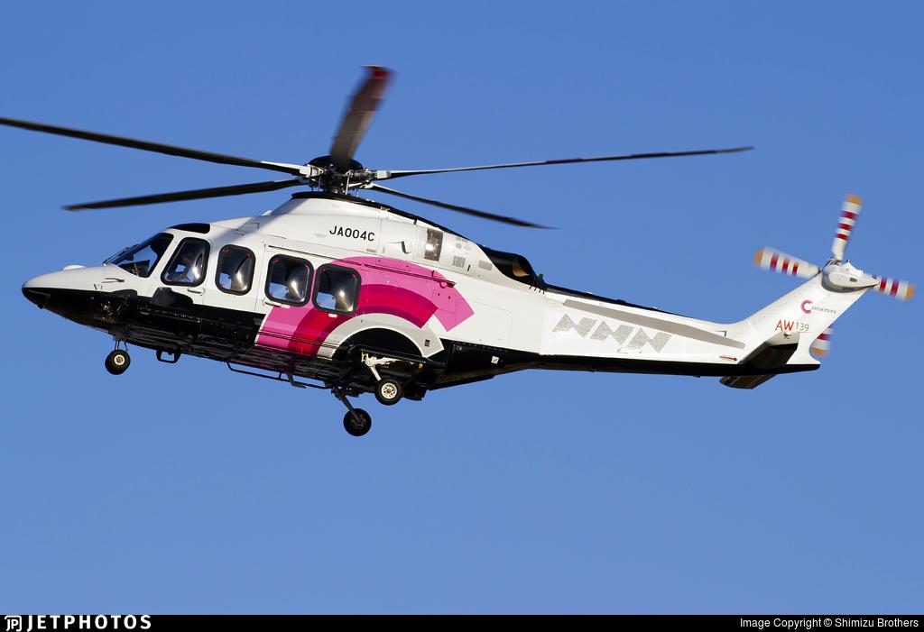 JA004C - Agusta-Westland AW-139 - Nakina Air Service