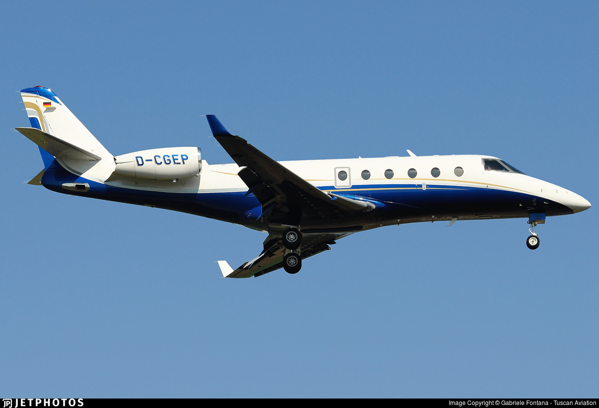 D-CGEP - Gulfstream G150 - Windrose Air Jetcharter