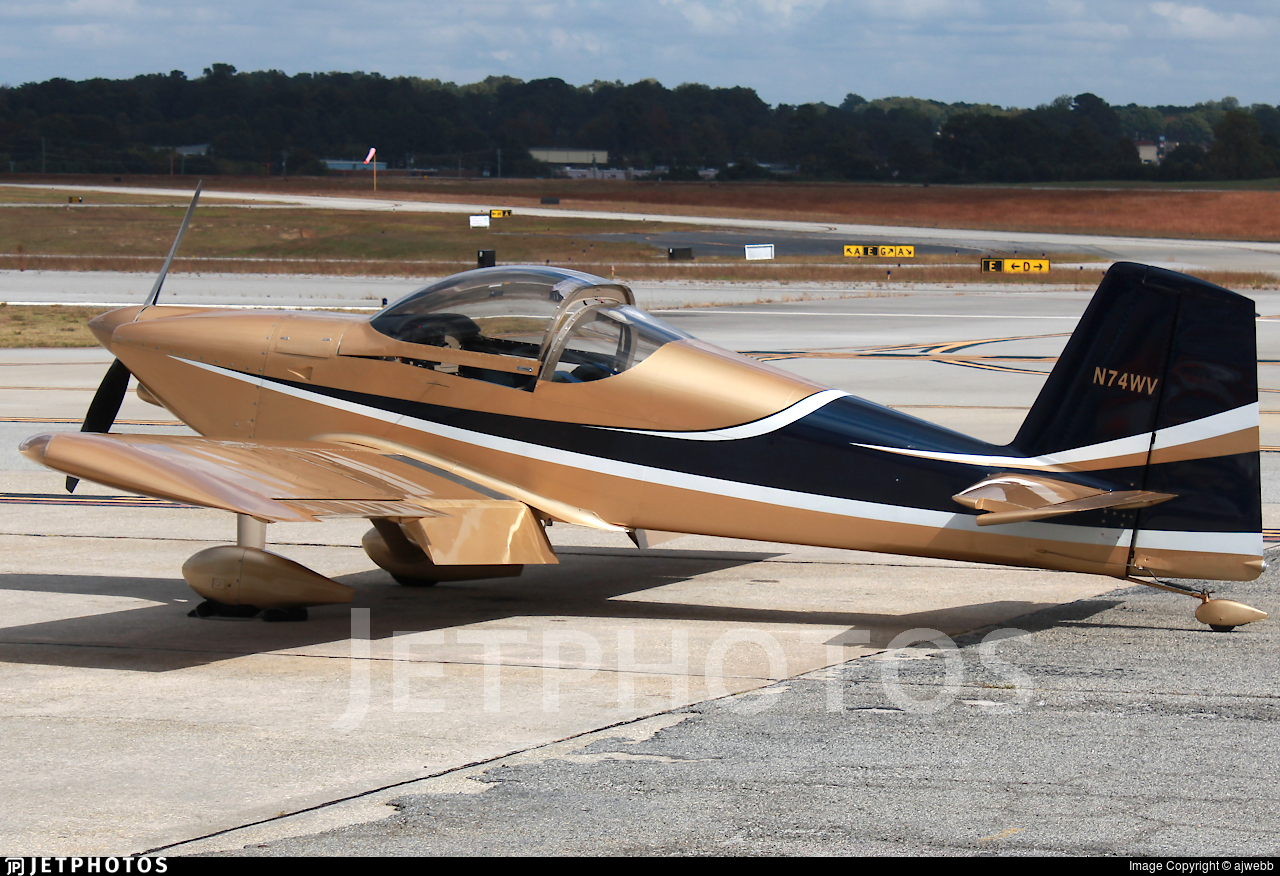 N74WV - Vans RV-7 - Private