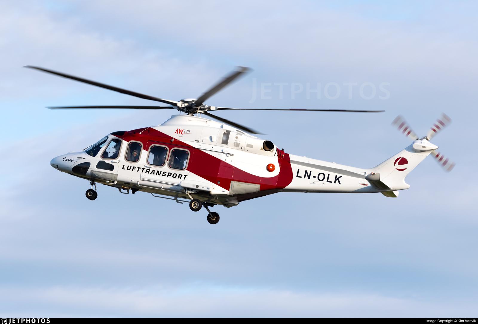 LN-OLK - Agusta-Westland AW-139 - Lufttransport