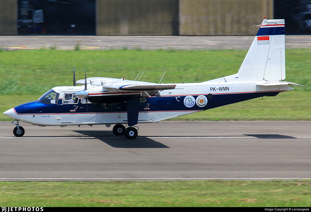 PK-WMN - Britten-Norman BN-2T Turbine Islander - Wise Air
