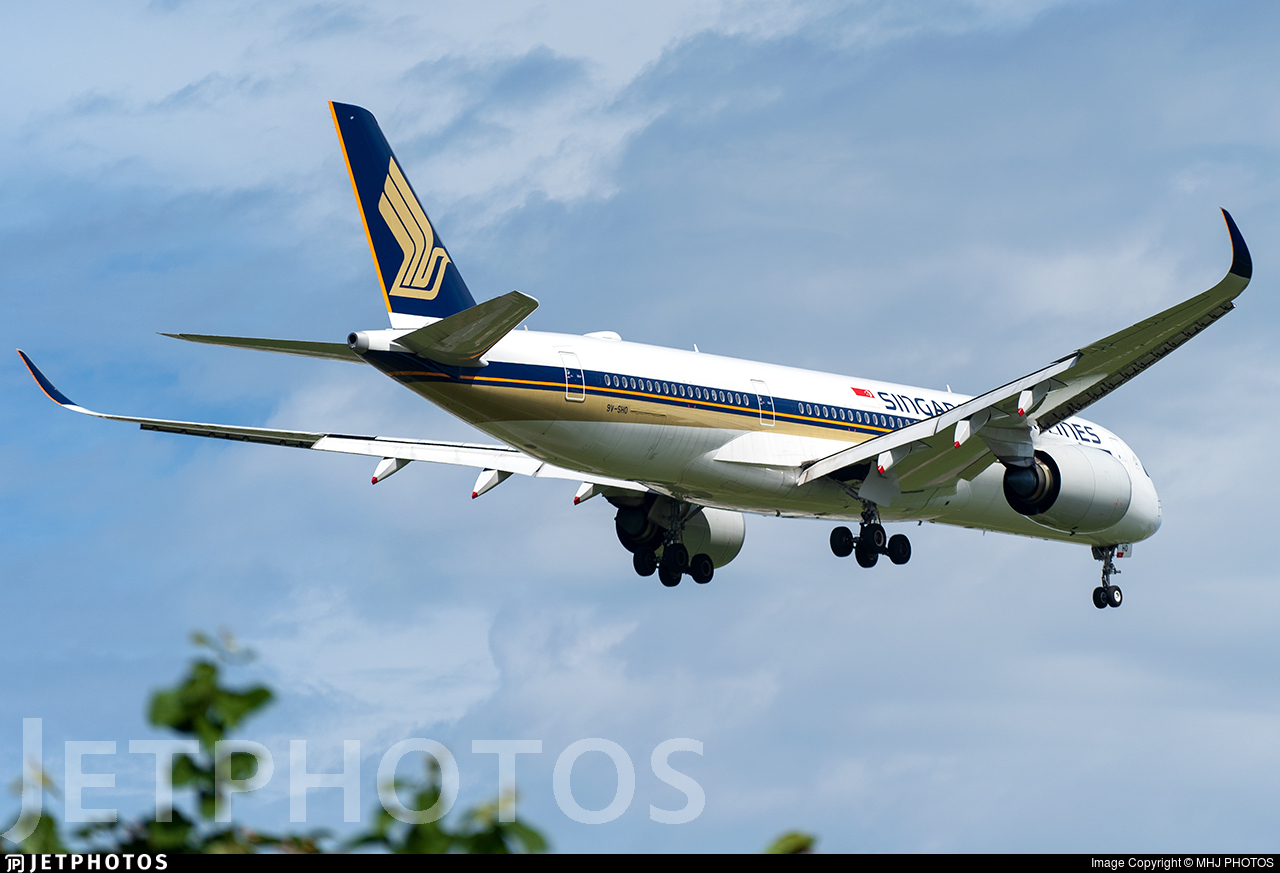 9V-SHO - Airbus A350-941 - Singapore Airlines