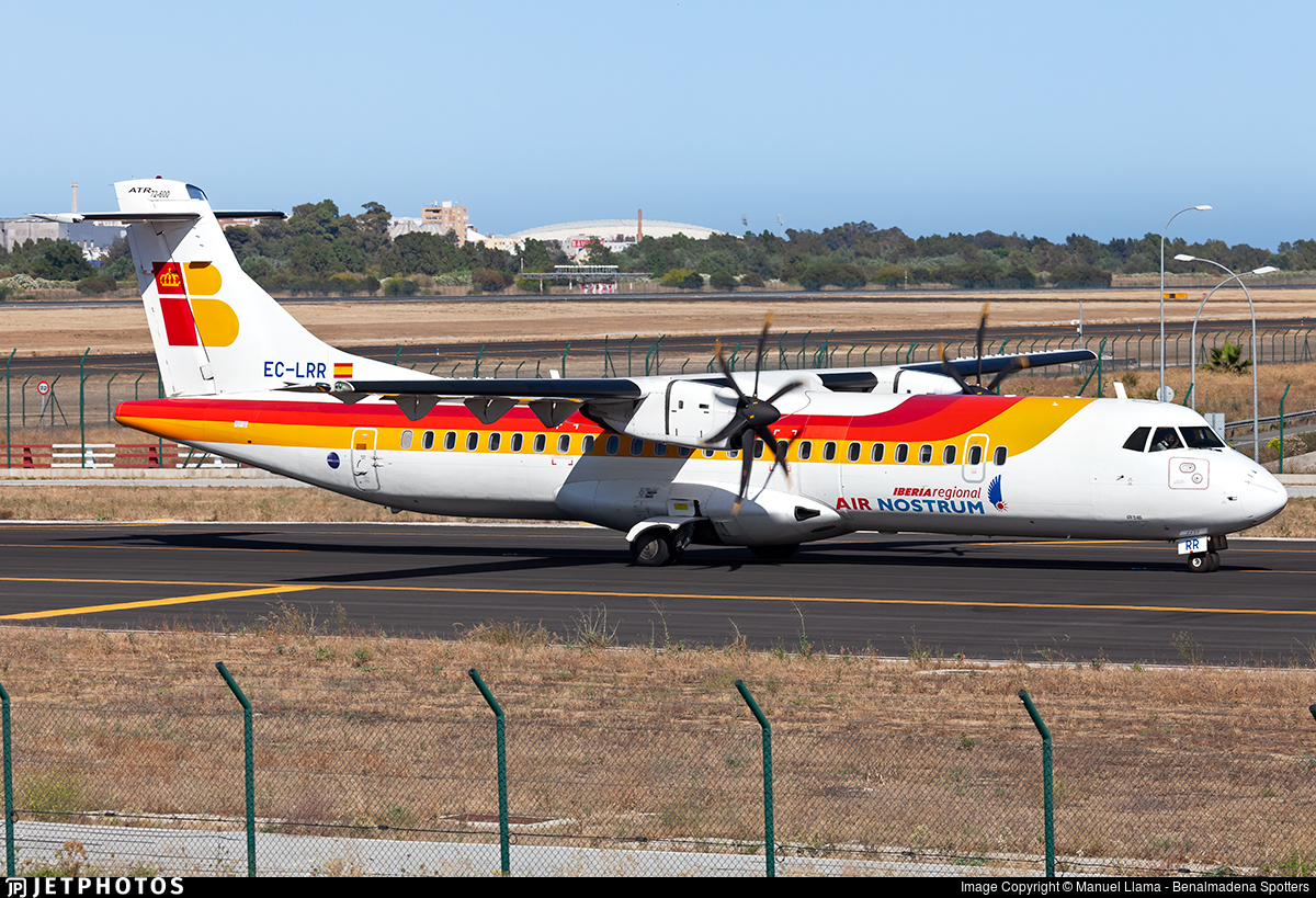 EC-LRR - ATR 72-212A(600) - Iberia Regional (Air Nostrum)