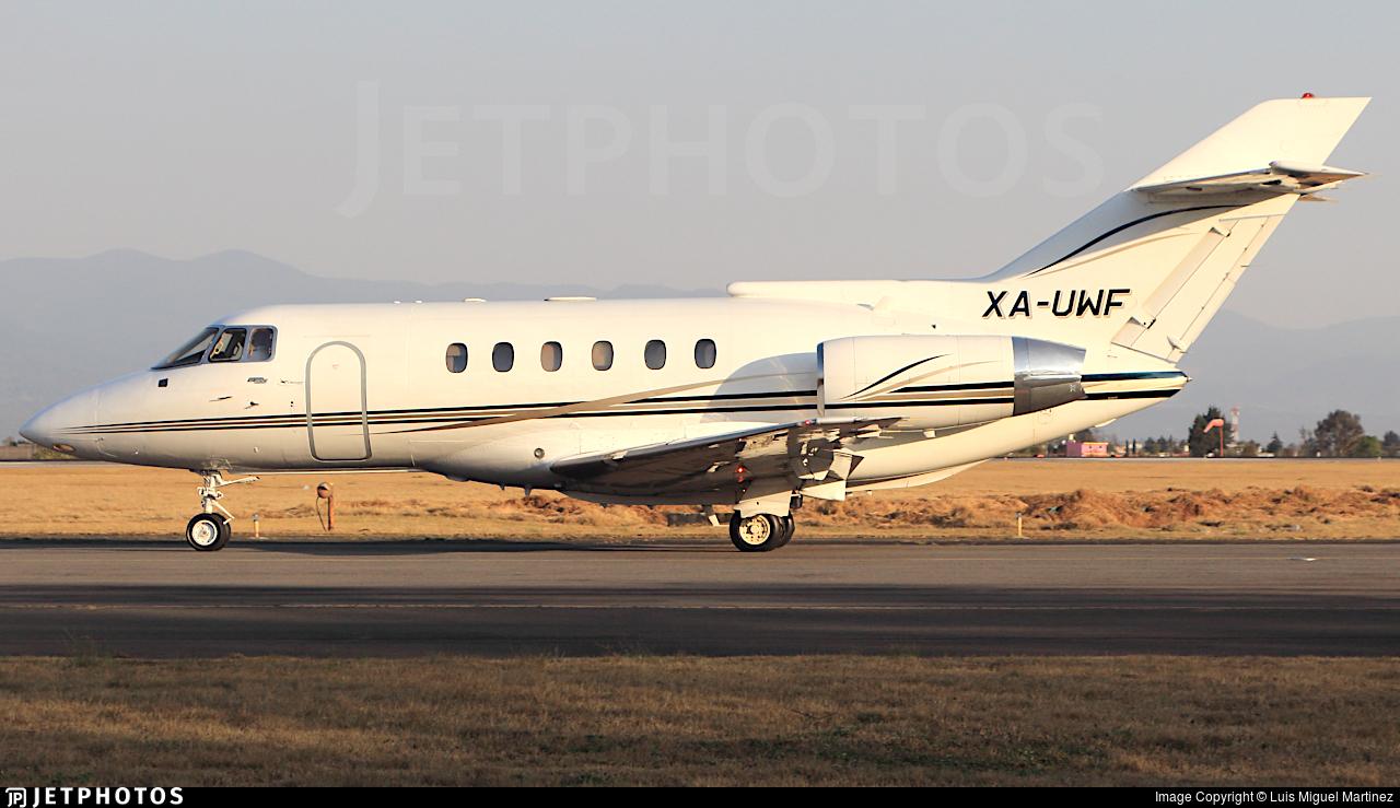 XA-UWF | British Aerospace BAe 125-800A | Private | Luis Miguel