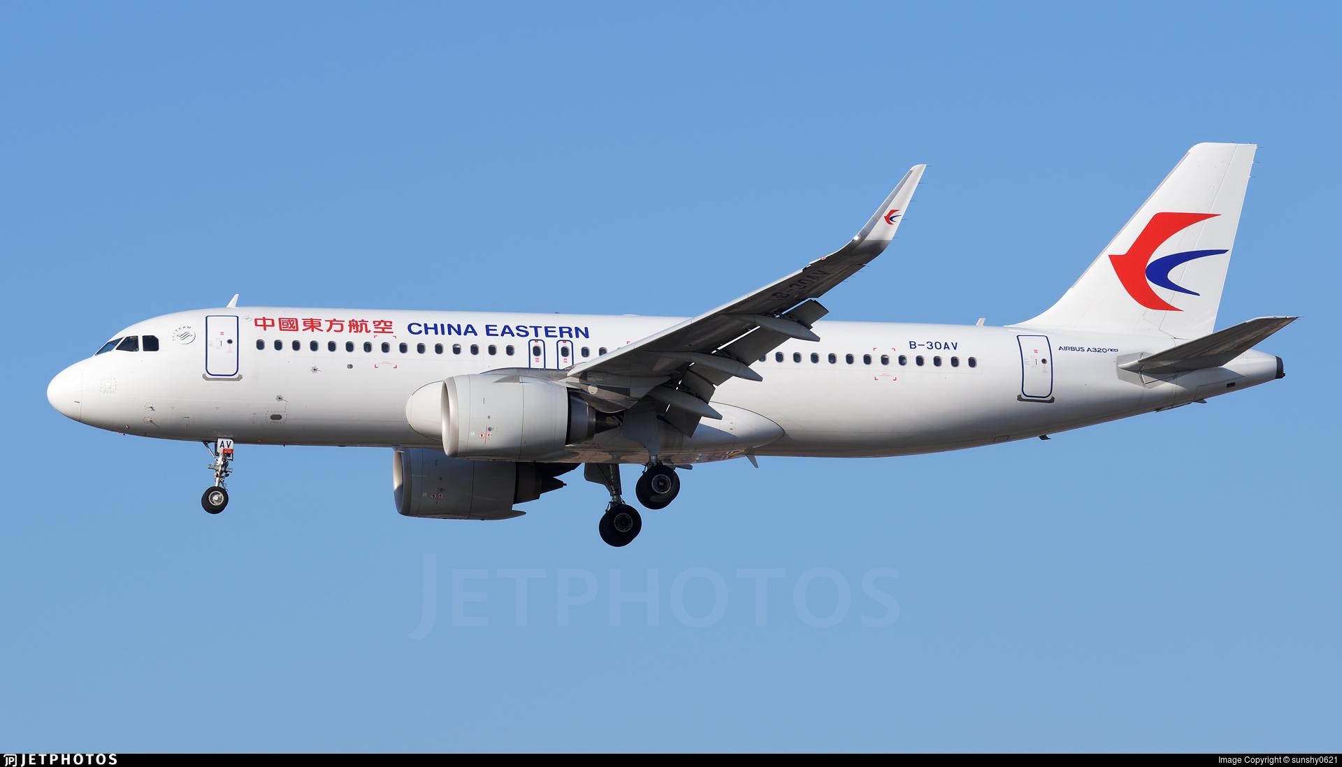 B-30AV - Airbus A320-251N - China Eastern Airlines