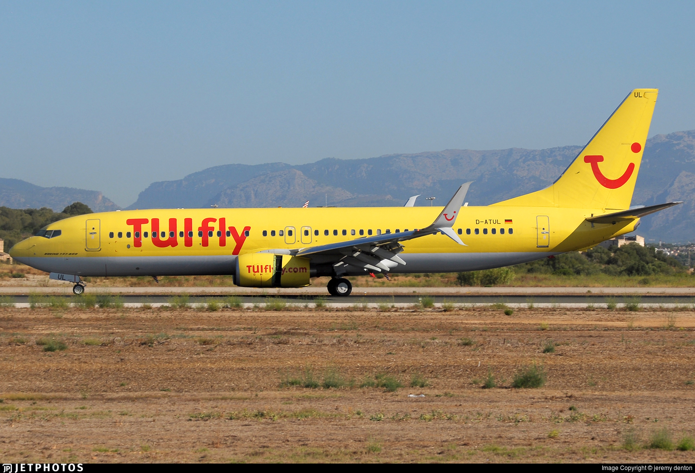 D-ATUL - Boeing 737-8K5 - TUIfly