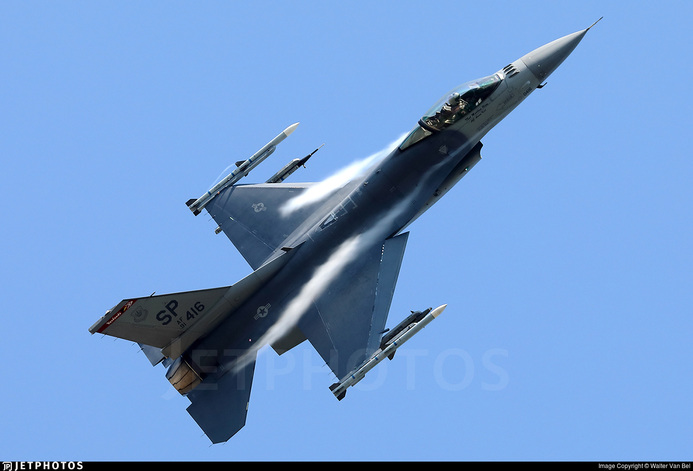 91-0416 - General Dynamics F-16C Fighting Falcon - United States - US Air Force (USAF)
