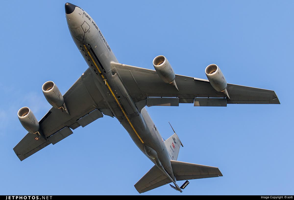 58-0110 - Boeing KC-135R Stratotanker - Turkey - Air Force