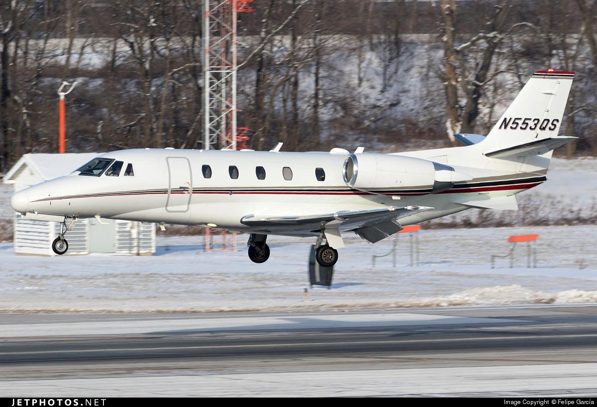 N553QS - Cessna 560XL Citation Excel - NetJets Aviation