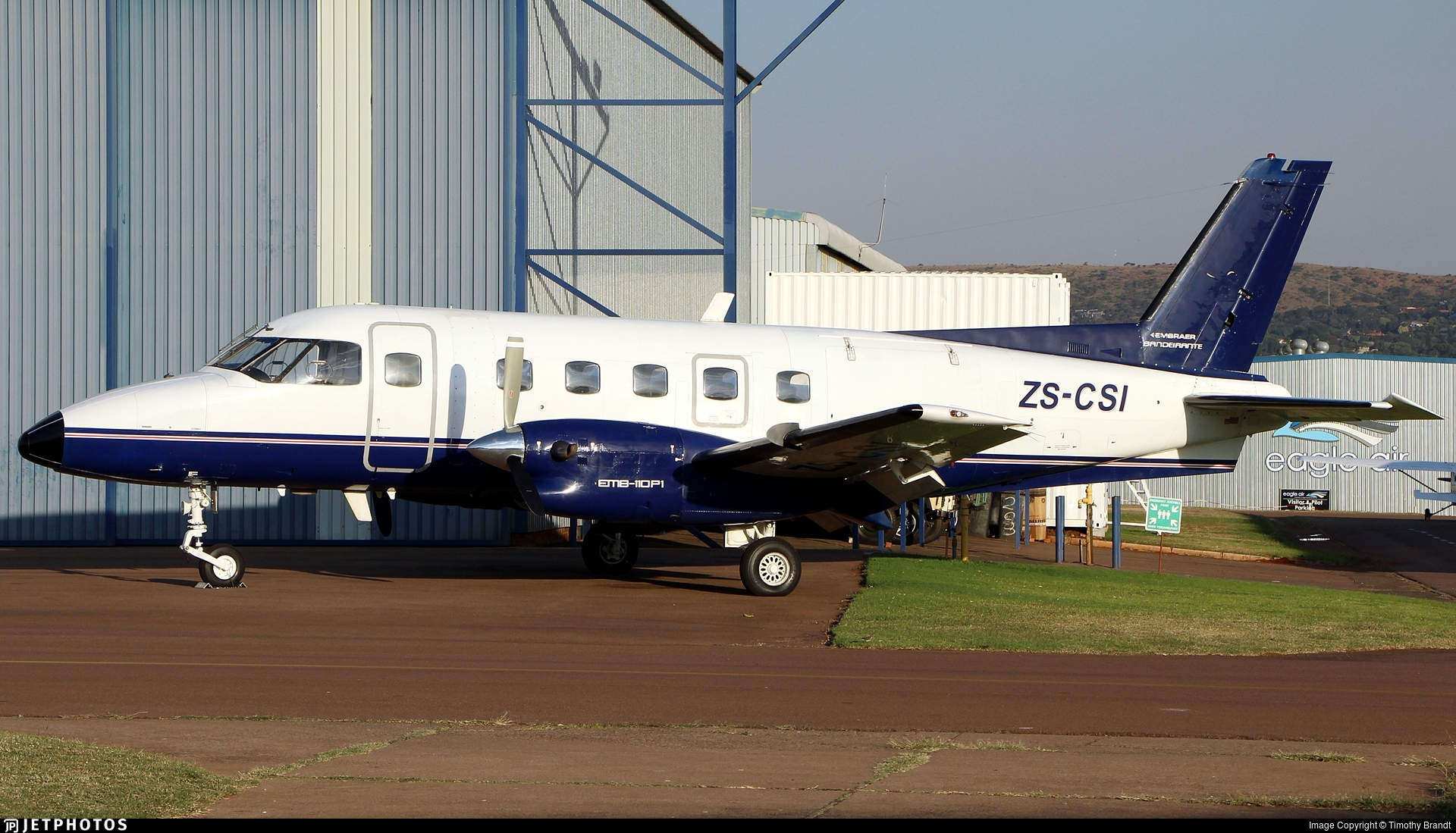 ZS-CSI - Embraer EMB-110P1 Bandeirante - FlyJetstream Aviation