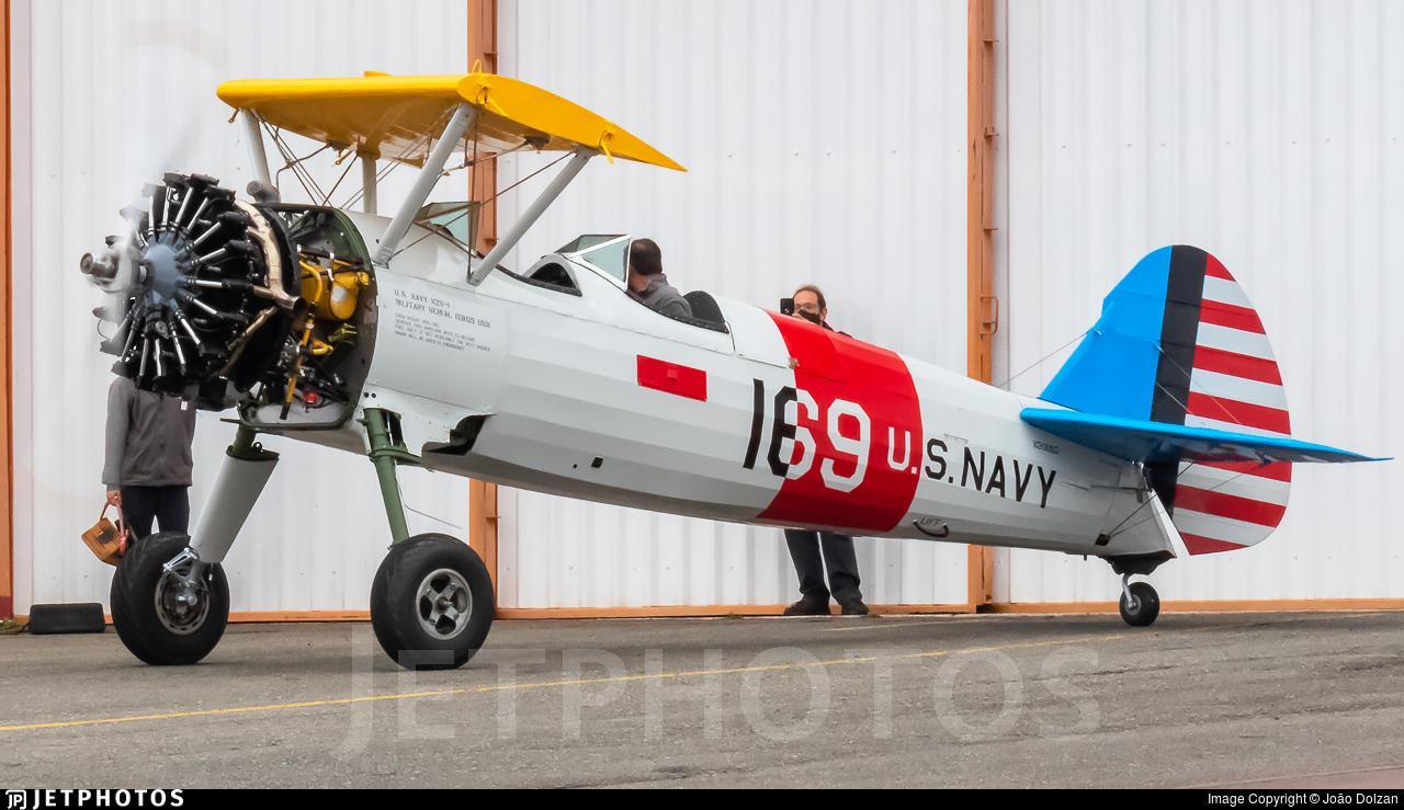 PR-ZLU - Boeing A-75N1 - Private