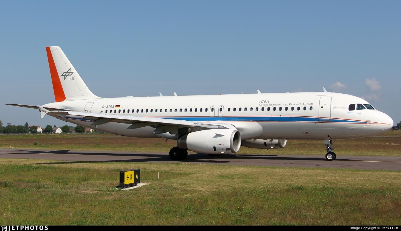 D-ATRA - Airbus A320-232 - Germany - DLR Flugbetriebe