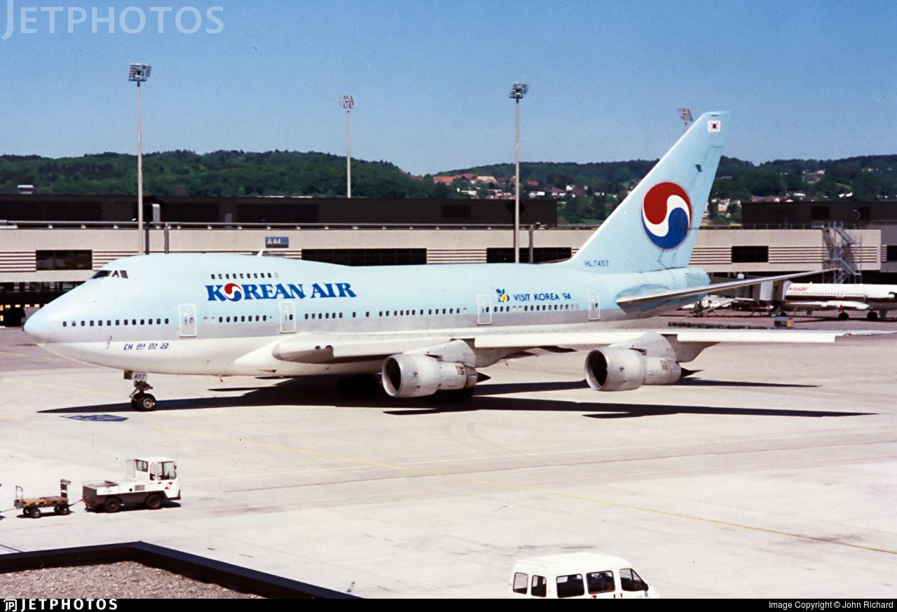 HL7457 - Boeing 747SP-B5 - Korean Air