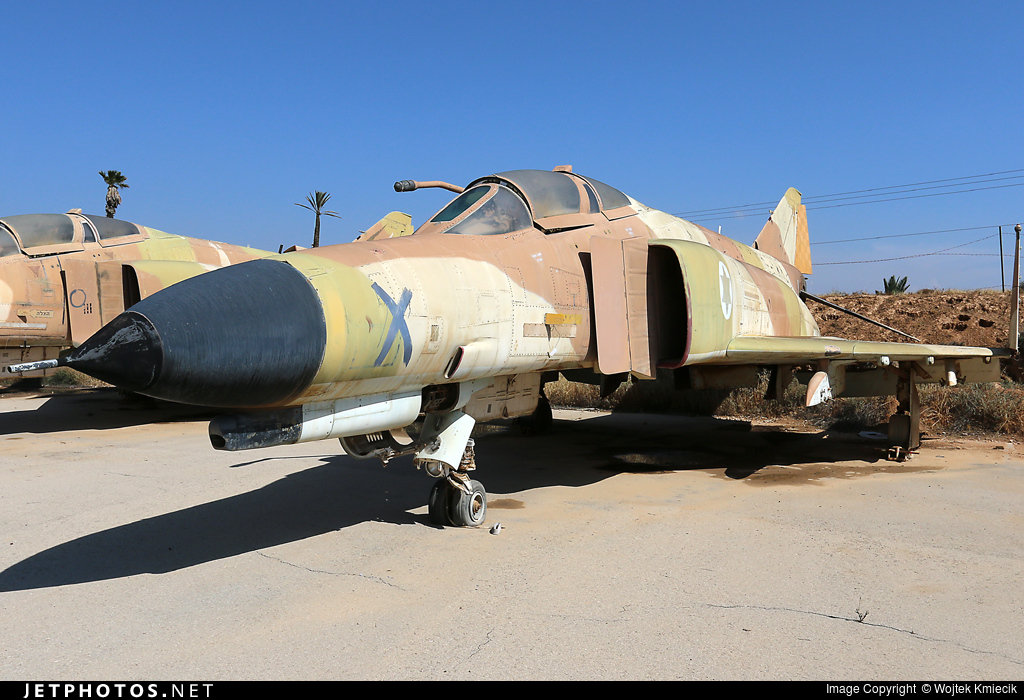134 - McDonnell Douglas F-4E Kurnass - Israel - Air Force