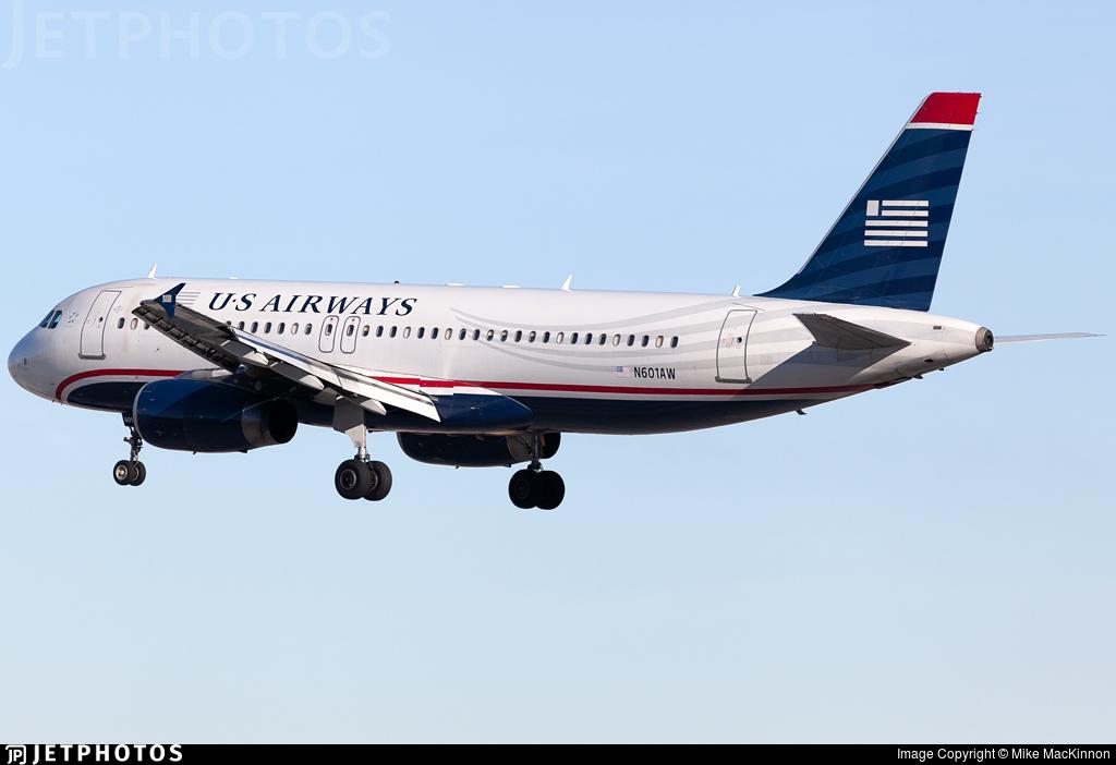 N601AW - Airbus A320-232 - US Airways