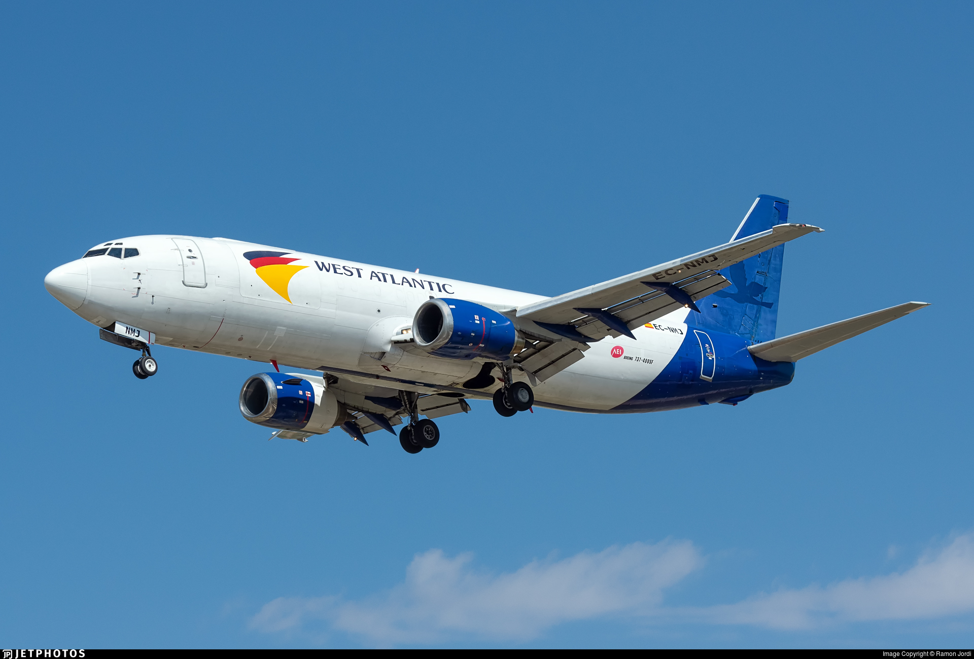EC-NMJ - Boeing 737-4K5(SF) - West Atlantic (Swiftair)