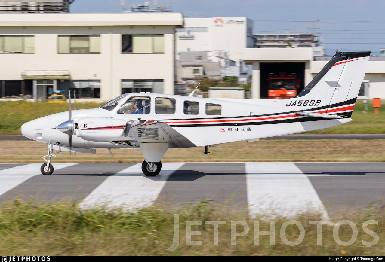 JA58GB - Beechcraft 58 Baron - Asahi Air