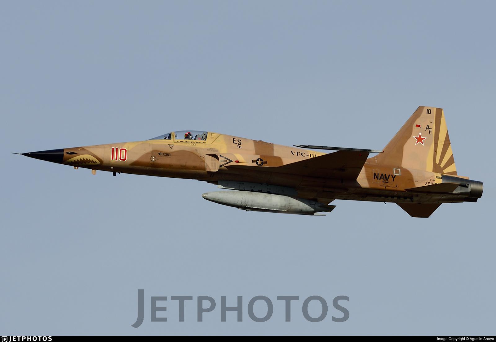761565 - Northrop F-5N Tiger II - United States - US Navy (USN)
