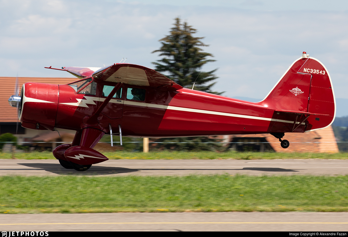 N33543 - Stinson SR-9C Reliant - Private
