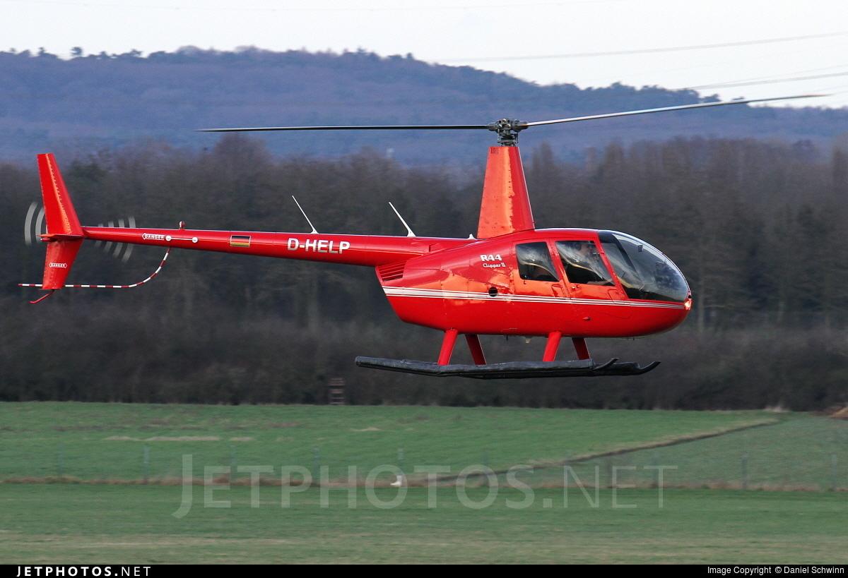 D-HELP - Robinson R44 Clipper II - Private