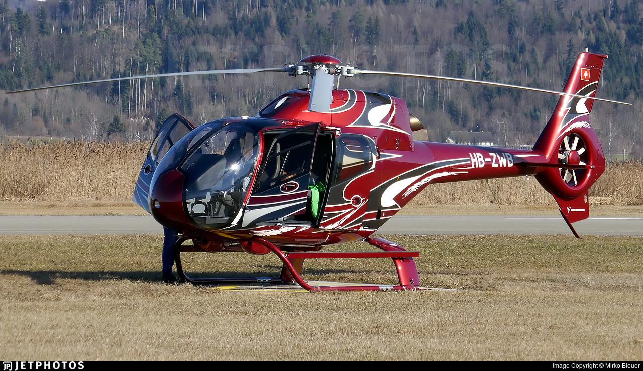 HB-ZWB - Eurocopter EC 120B Colibri - Fuchs Helikopter
